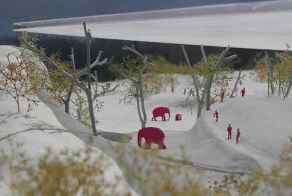 Project competition for the new elephant park of the Zoo Zurich, Switzerland